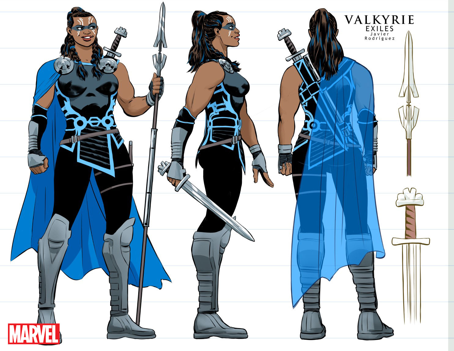 Valkyrie Character design