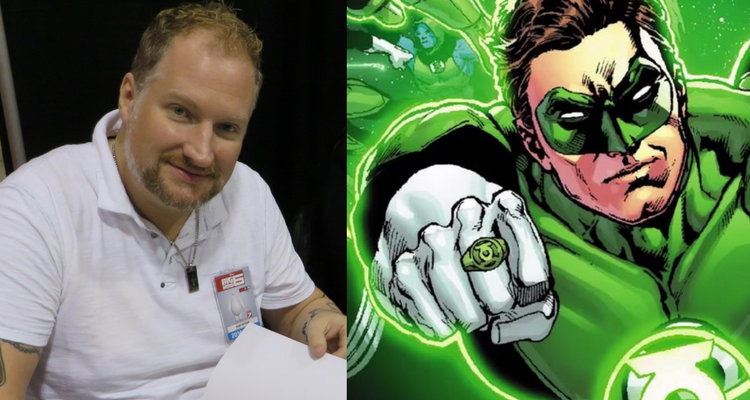 Ethan Van Sciver and Green Lantern
