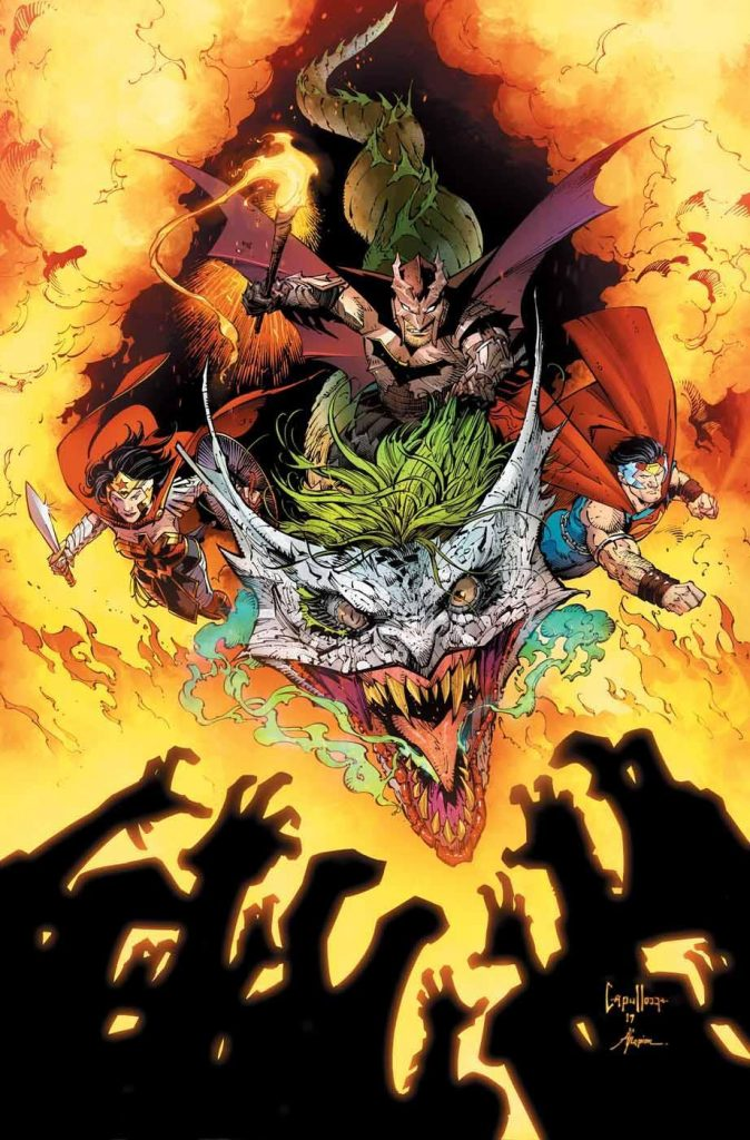 Dark Nights: Metal #6 Cover by Greg Capullo, Writer Scott Snyder