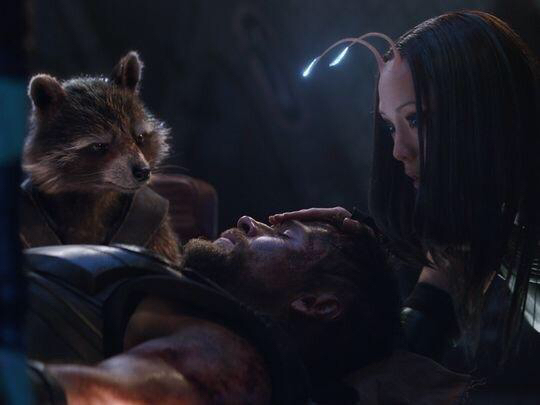 Avengers Infinity War leaked image