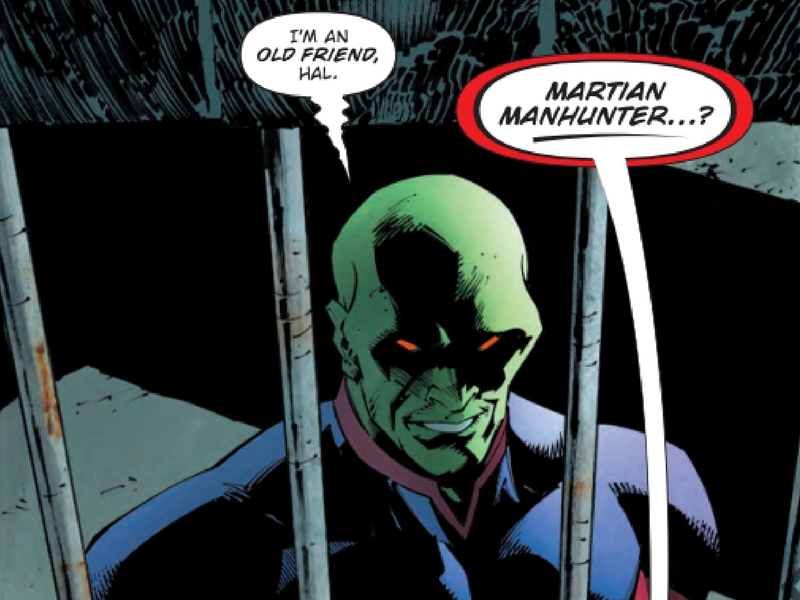 Martian Manhunter in Dark Nights: Metal #5 - Art by Greg Capullo