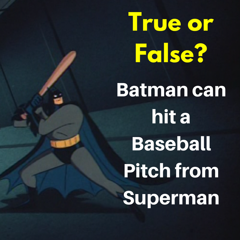 Batman Baseball Bat
