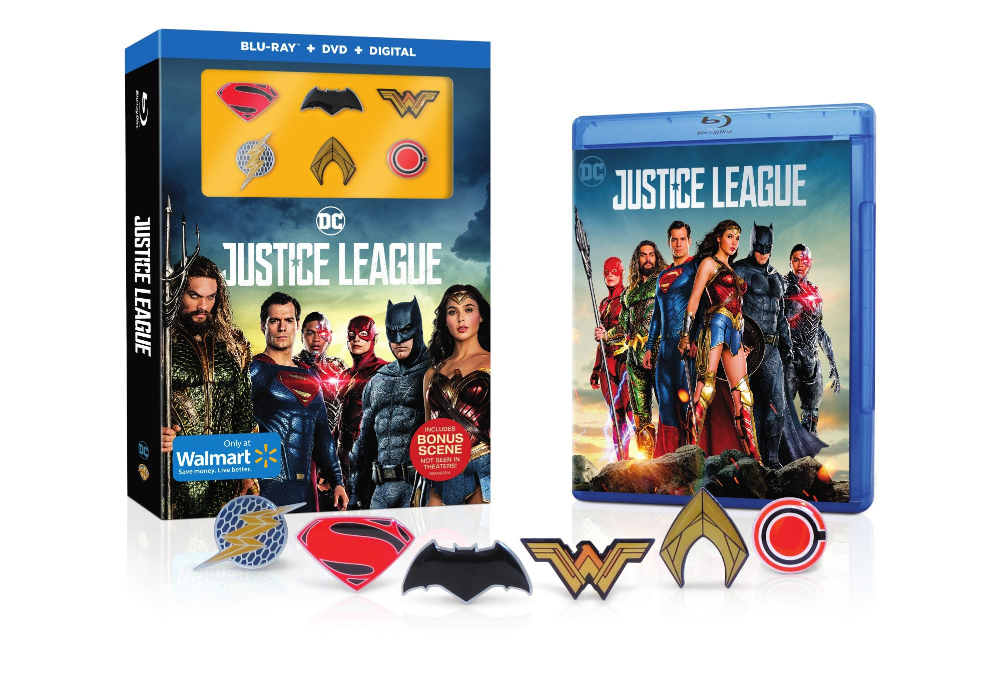 Walmart Justice League DVD