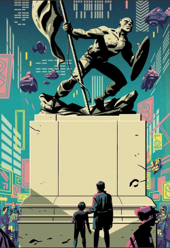 Captain America #701 Cover