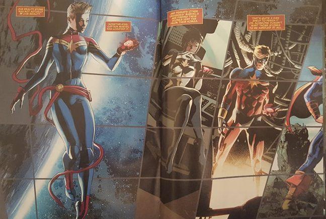 Captain Marvel, Mar-Vell, and Spectrum