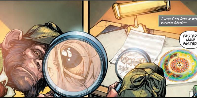 DC Comics - Dark Knights Rising: The Wild Hunt - Detective Chimp