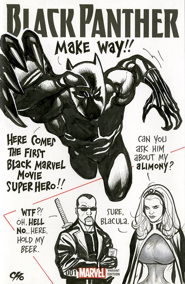 Frank Cho Black Panther