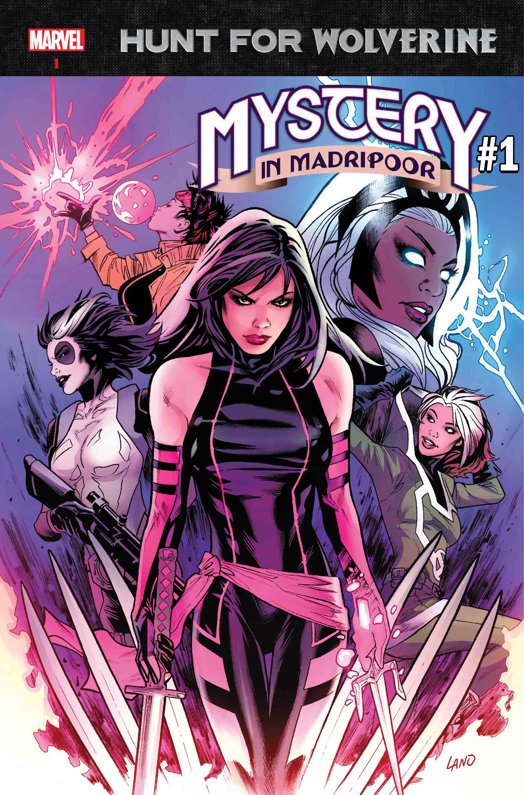 The Hunt for Wolverine Mystery in Madripoor #1