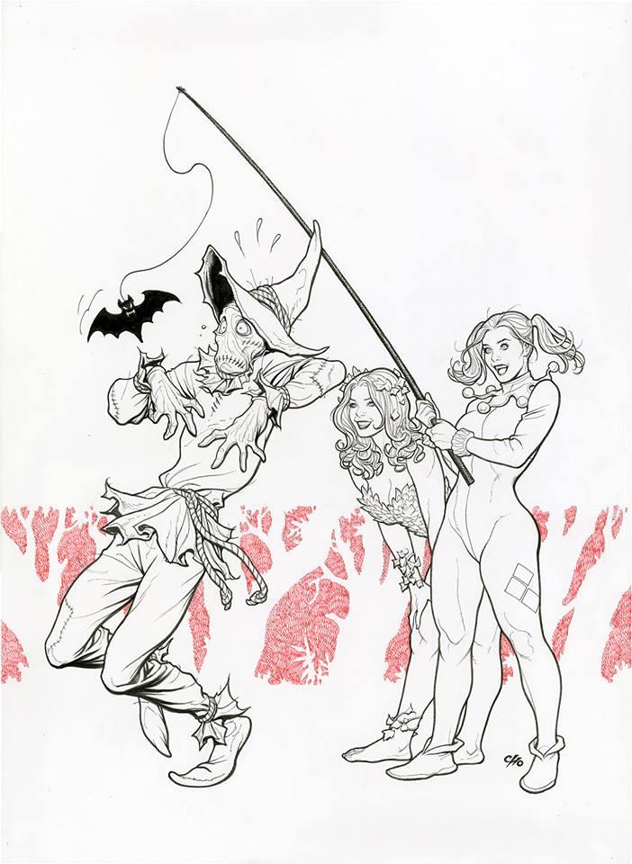 Harley Quinn #40 Variant by Frank Cho