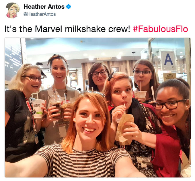 Heather Antos Milkshake