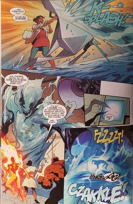Hydro-Man fight