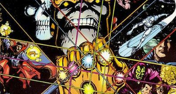 Thanos and Infinity Gauntlet
