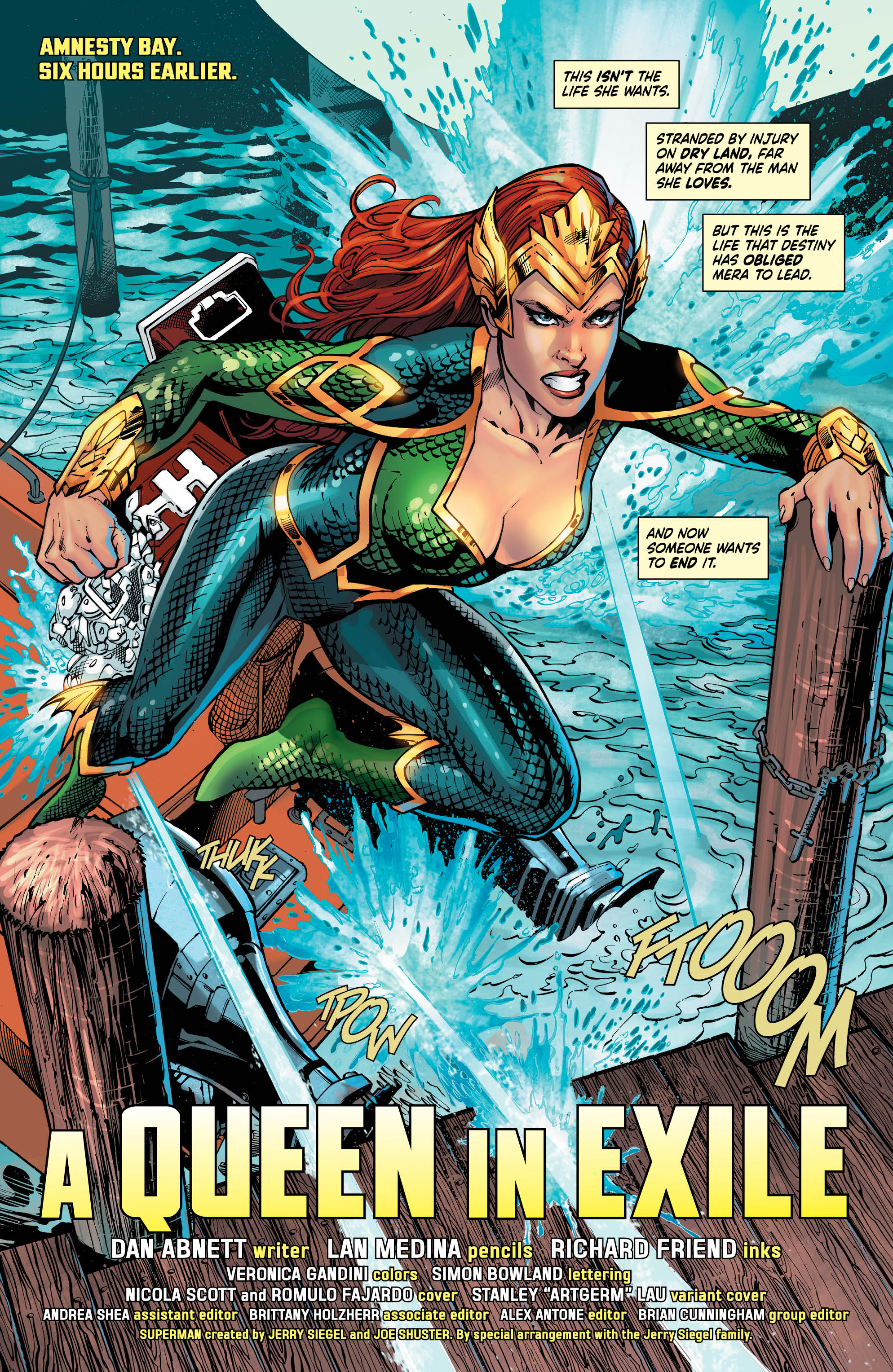 Mera: Queen of Atlantis #1