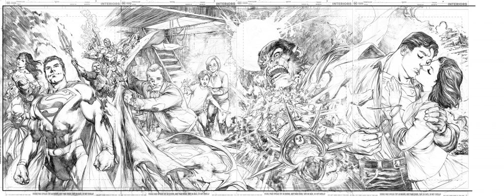 Man of Steel Cover Art by Ivan Reis