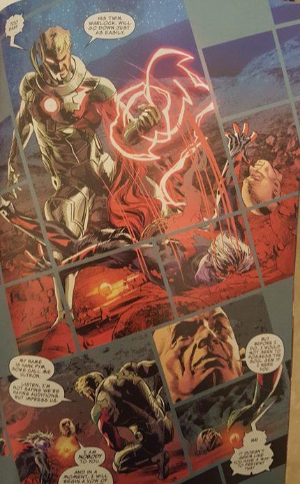 Hank Pym kills Magus
