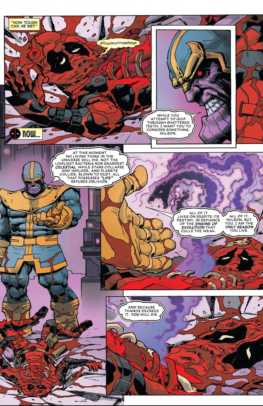 who can defeat thanos in the comics
