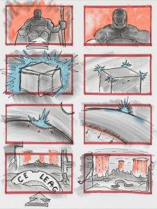 Justice League - Zack Snyder Darkseid Storyboard