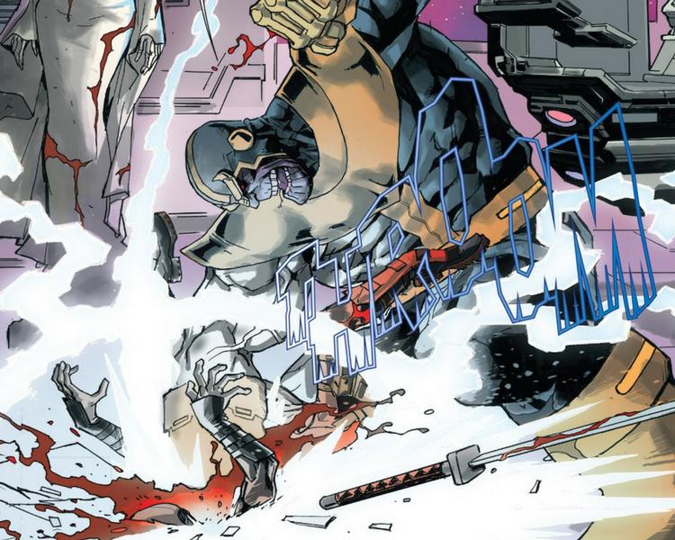 Thanos vs Deadpool