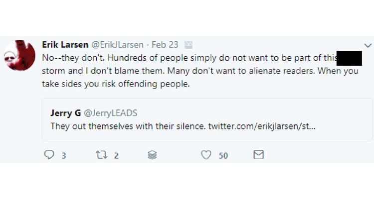 Erik Larsen Twitter