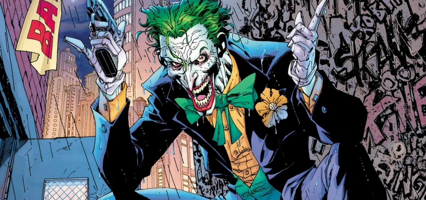 DC Comics - The Joker - Art by Jim Lee
