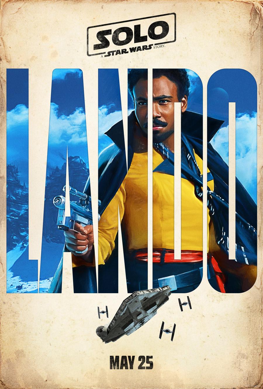 Lando character poster