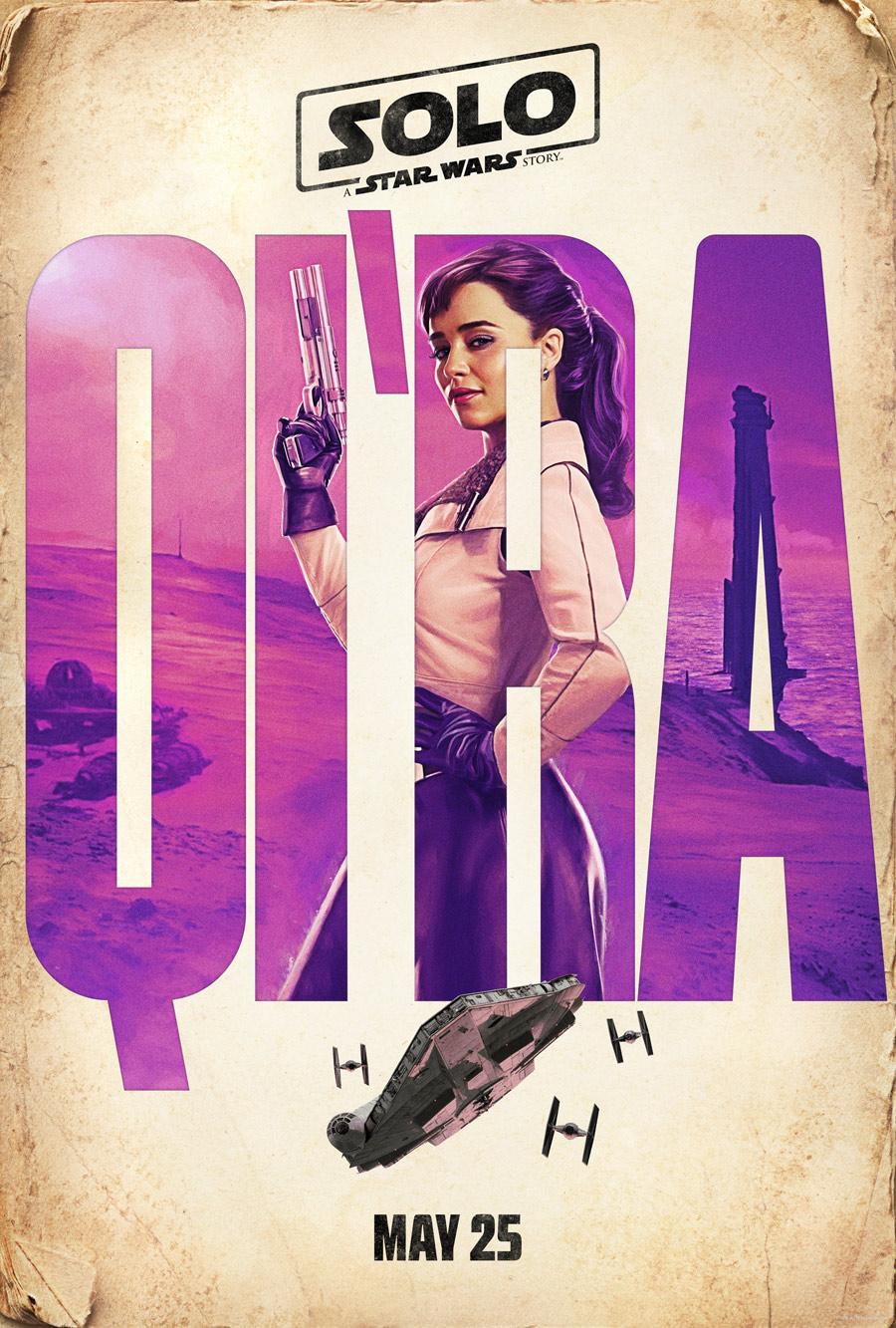 Qi'Ra Character Poster