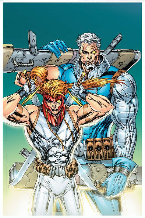 Shatterstar and Cable
