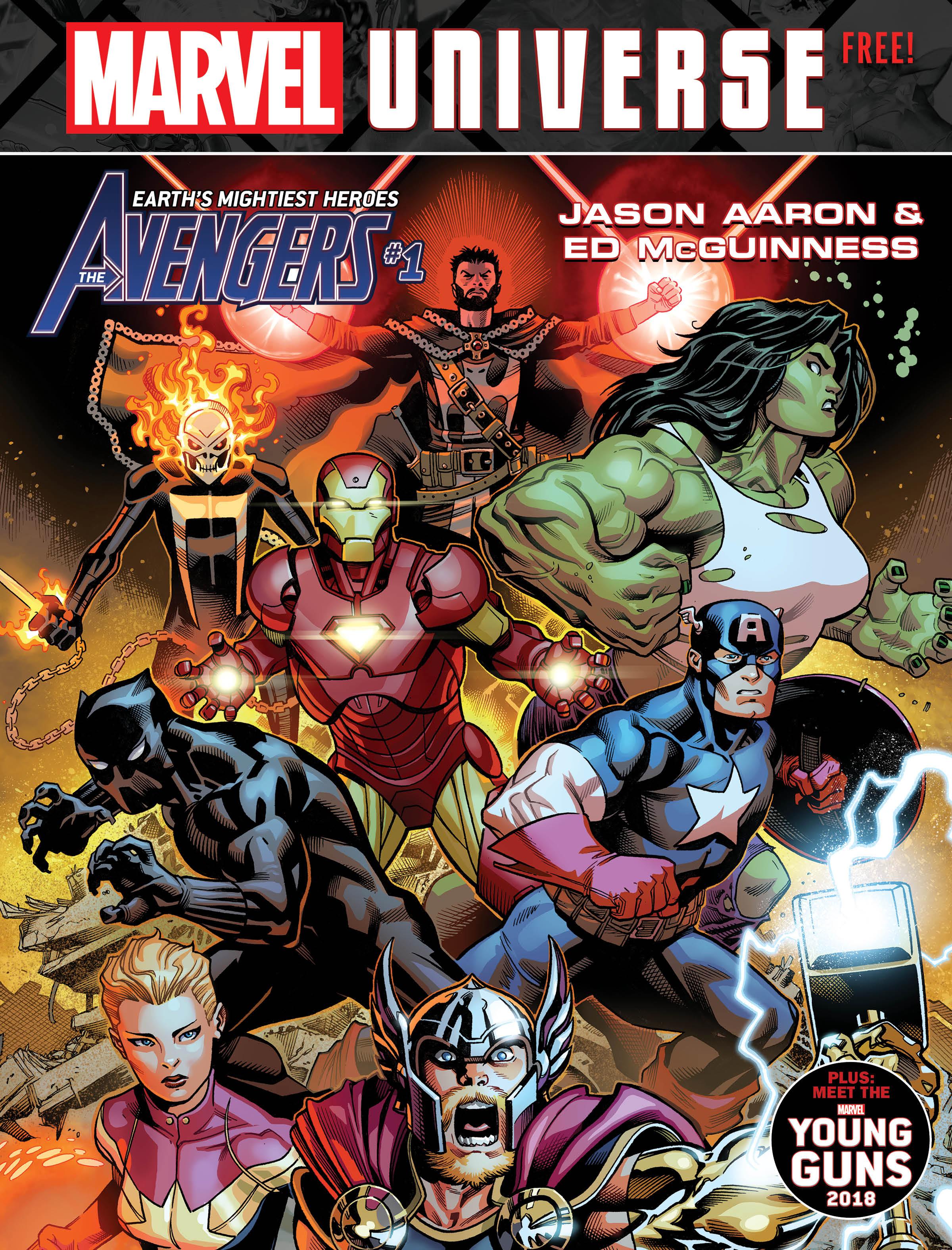 Avengers Magazine Cover