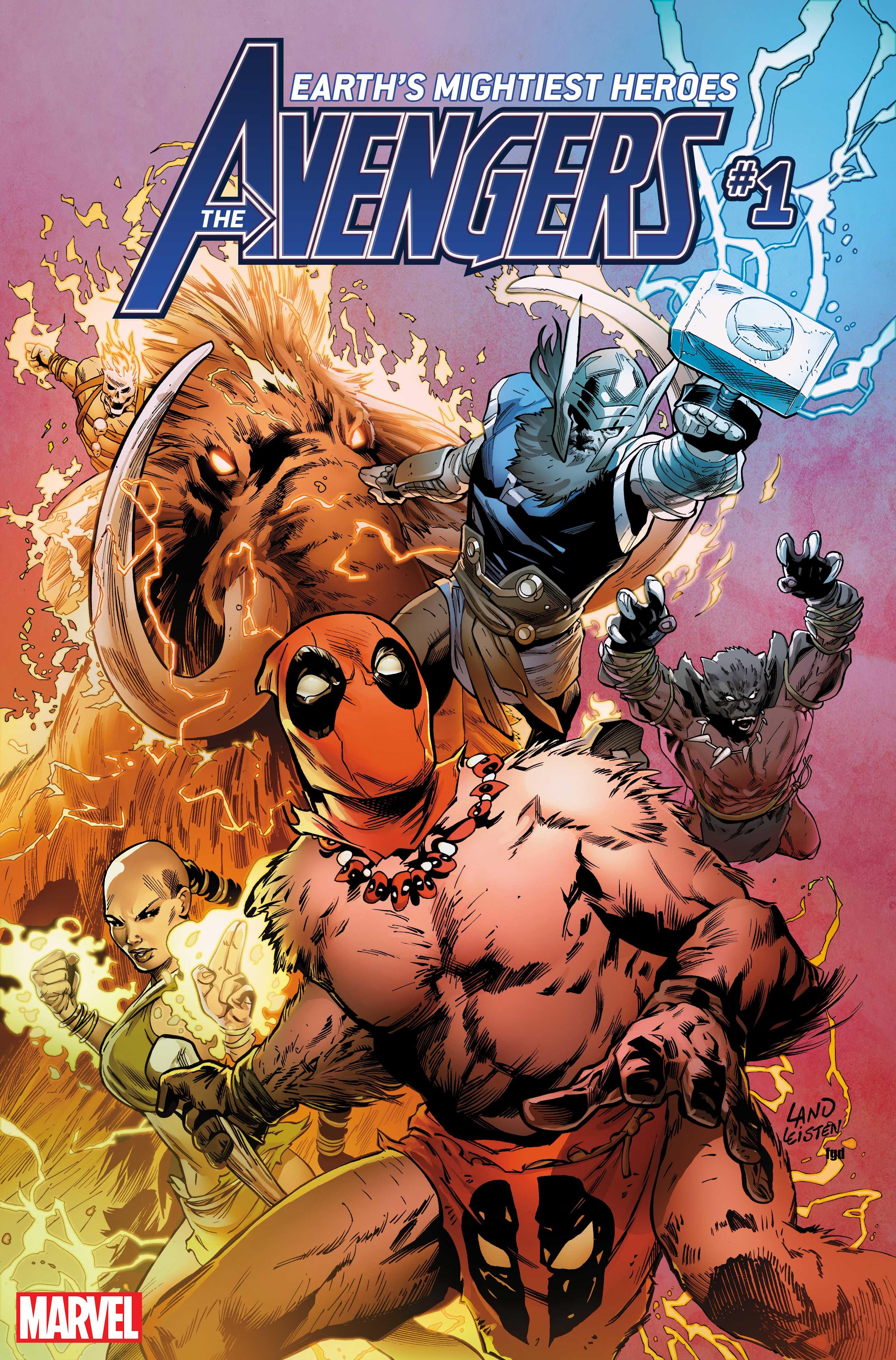 Greg Land Avengers #1