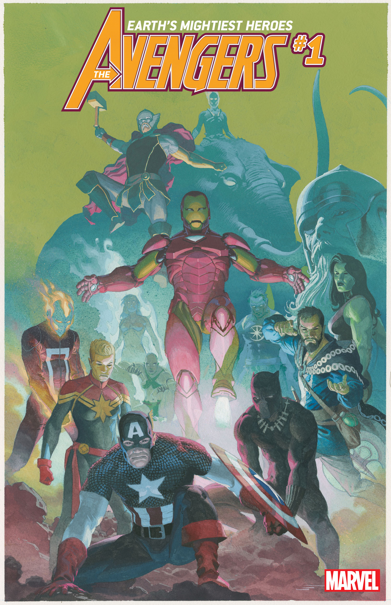 Avengers #1 Variant by Esad Ribic