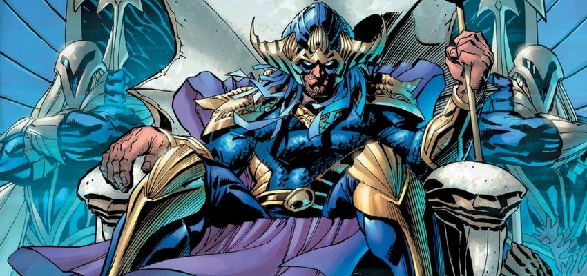 Aquaman #34 Cover Art by Kelley Jones - DC Comics