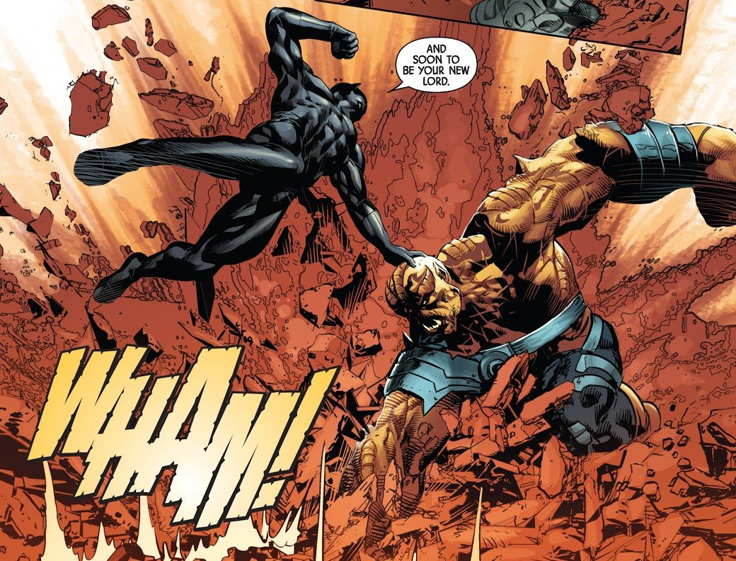 Black Panther vs Black Dwarf