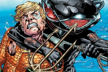 Aquaman and Black Manta - Bradley Walker - DC Comics