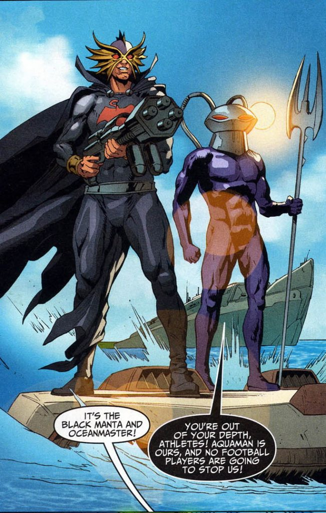 Black Manta and Ocean Master - DC Comics