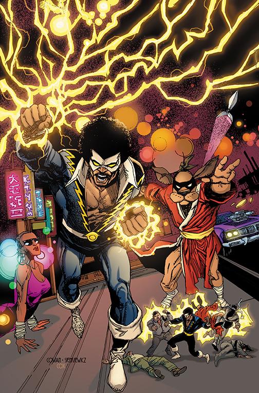 Black Lightning/Hong Kong Phoeey Special #1