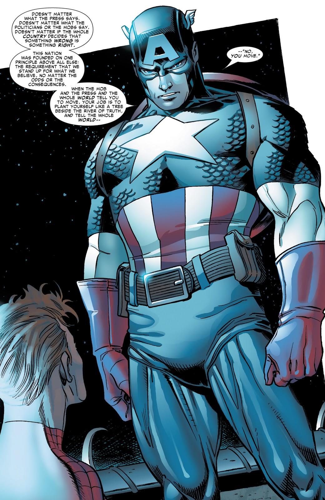 Captain America Amazing Spider-Man #537