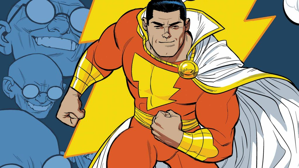Captain Marvel - Art by Cameron Stewart - DC Comics