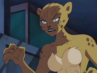 "Cheetah in ""Justice League: The Animated Series"""
