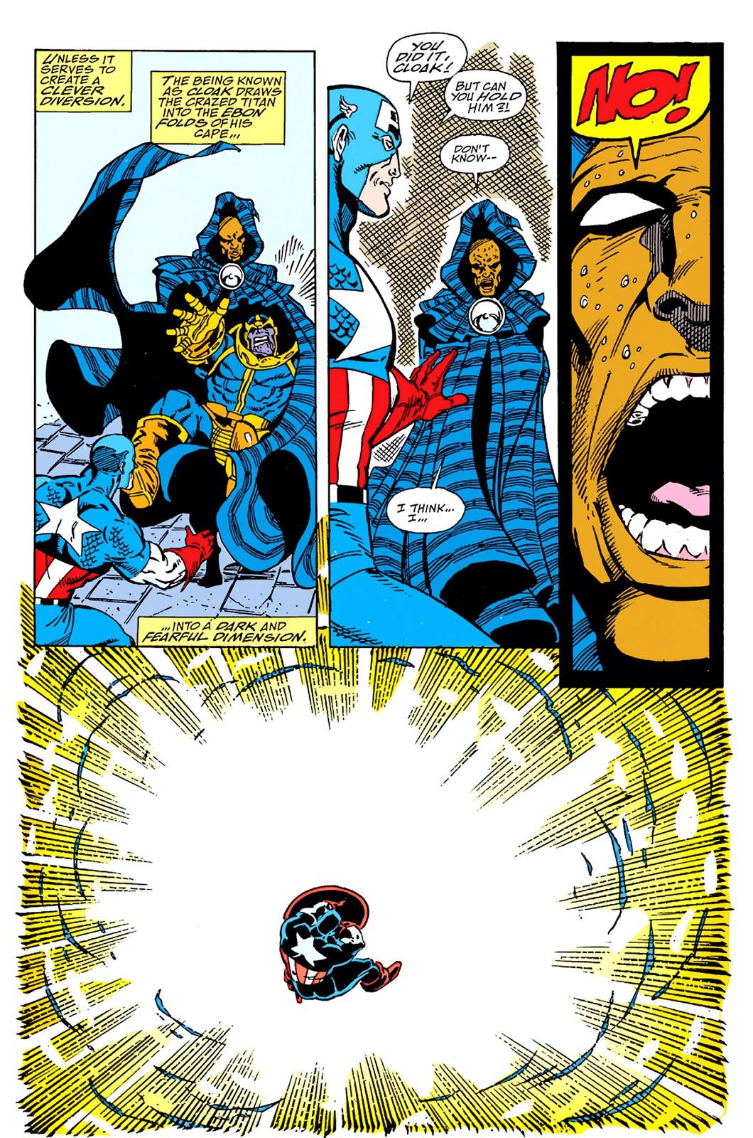 Thanos vs Cloak