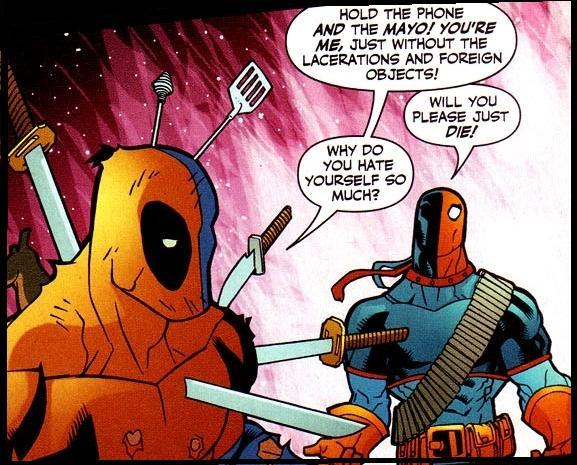 Deadpool/deathstroke