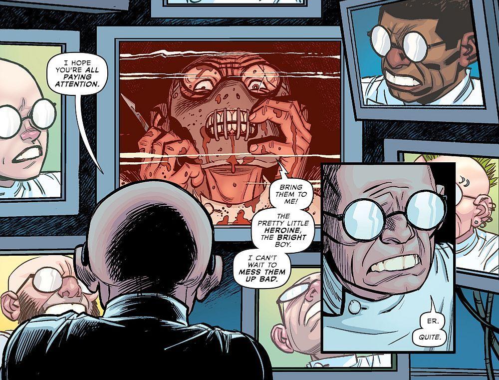Dr. Sivana in Multiversity - Art by Cameron Stewart - DC Comics
