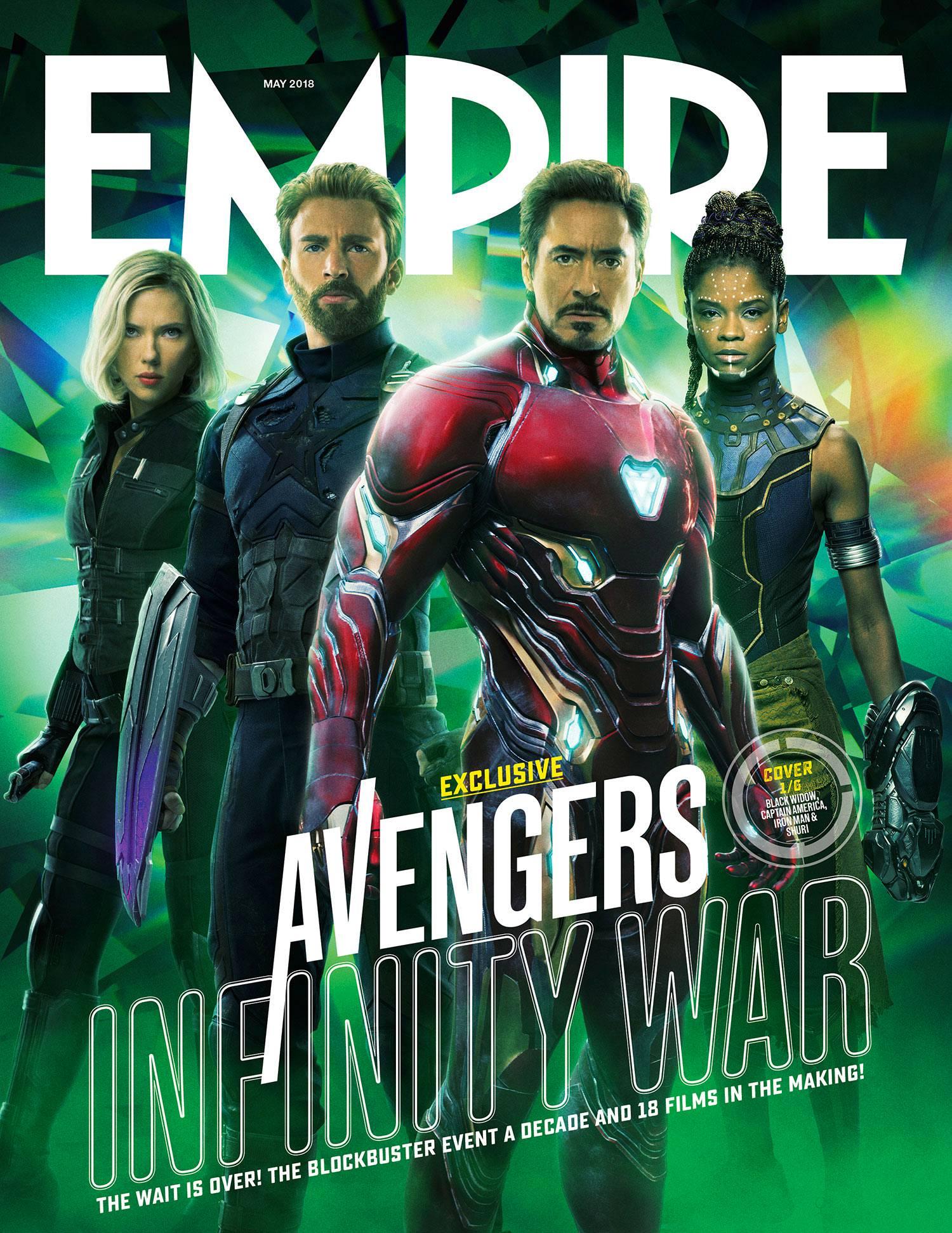 Empire Magazine Avengers: Infinity War