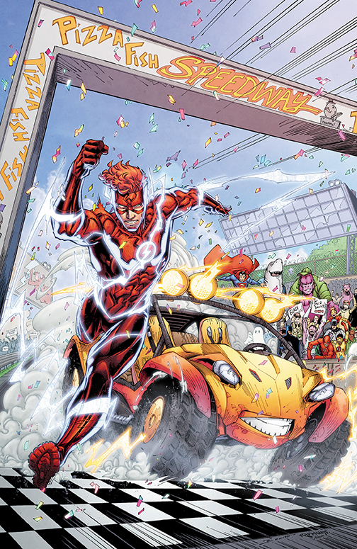 The Flash/Speed Buggy Special #1