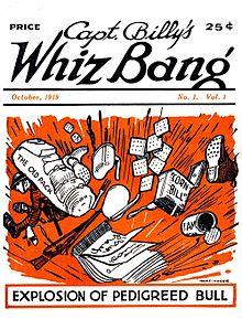 Whiz Bang Comic - Fawcett Publications