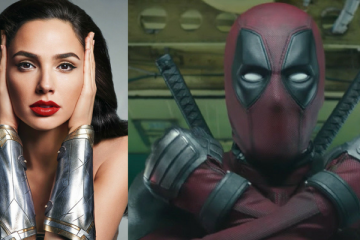 Gal Gadot and Deadpool
