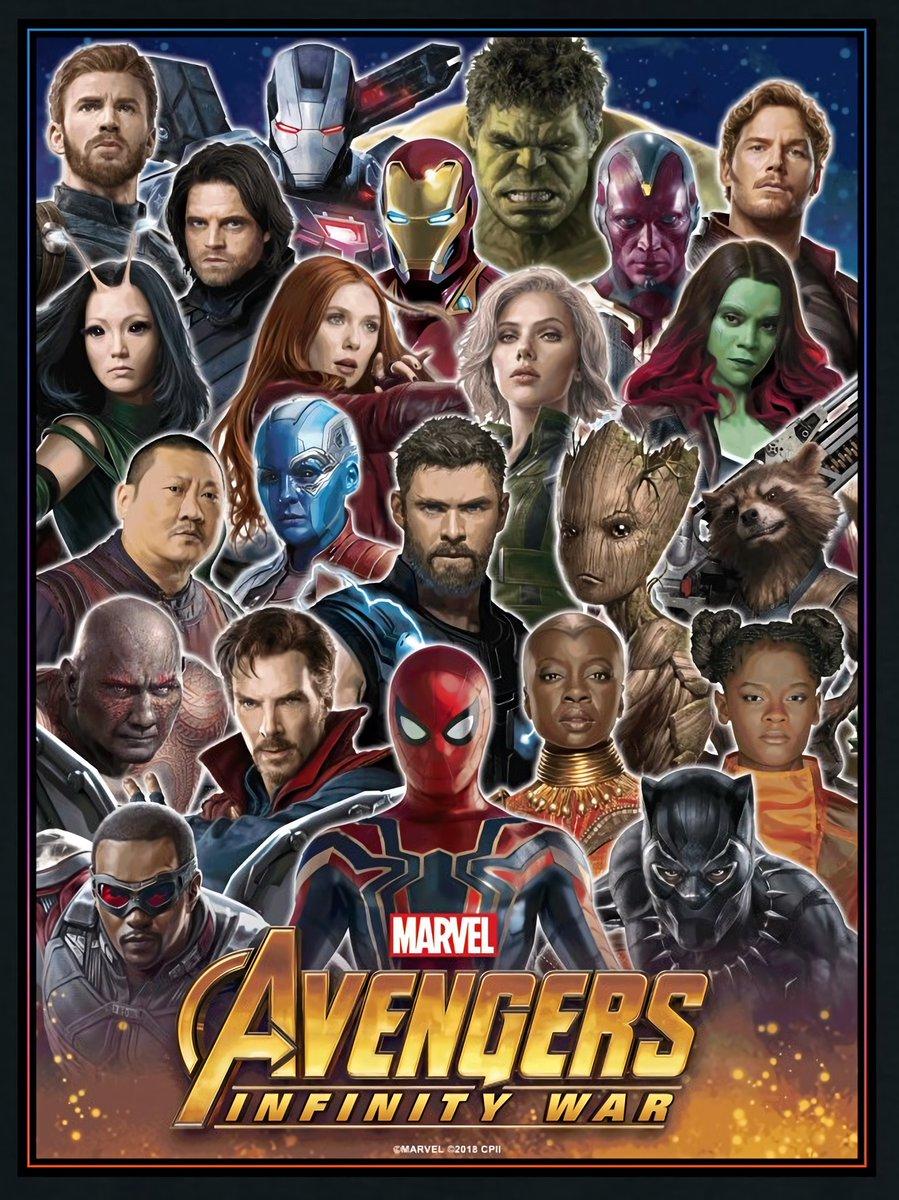 Chris Pratt Wiki >> New Avengers: Infinity War Poster Shows Off More ...