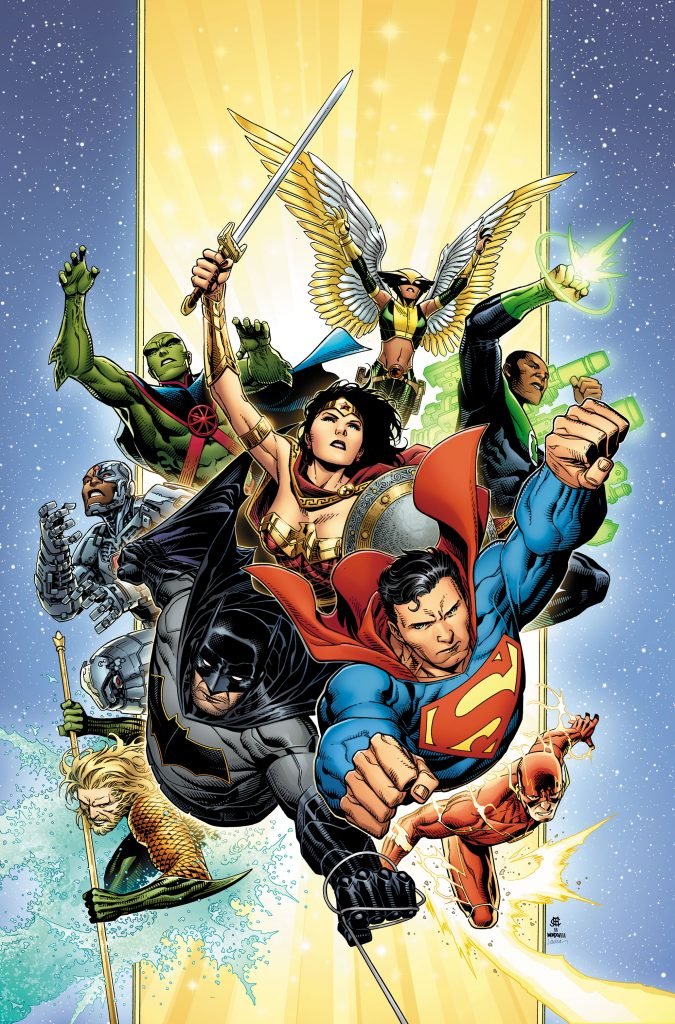 Justice League - Art by Jim Cheung - DC Comics
