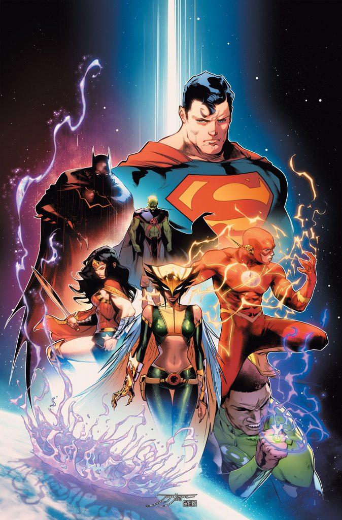 Justice League Art by Jorge Jimenez - DC Comics