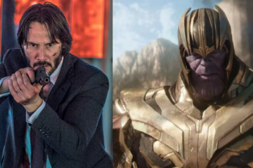 John Wick and Thanos