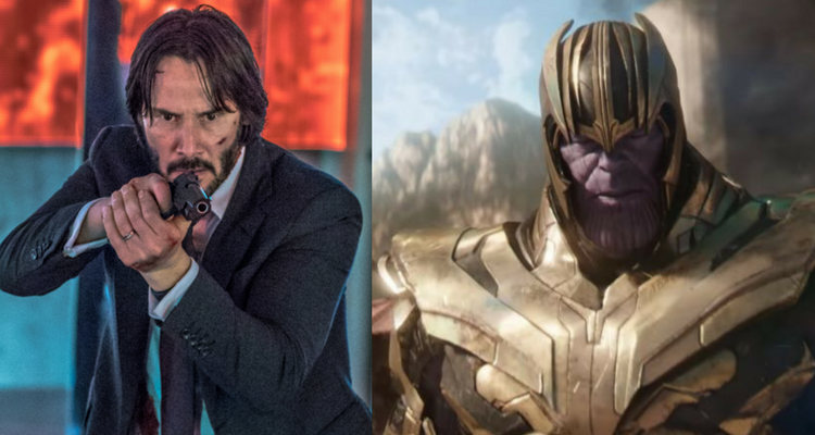 John Wick and Thanos